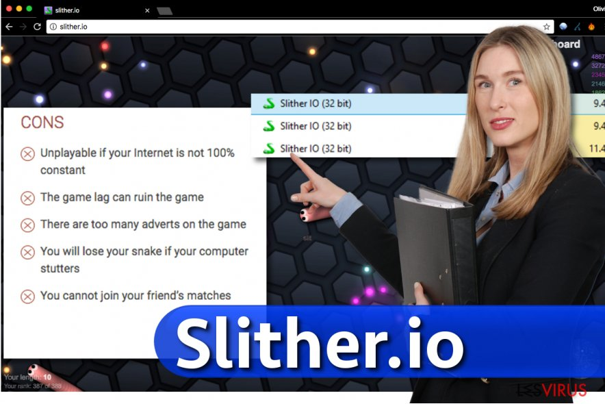 Slither.io-Virus