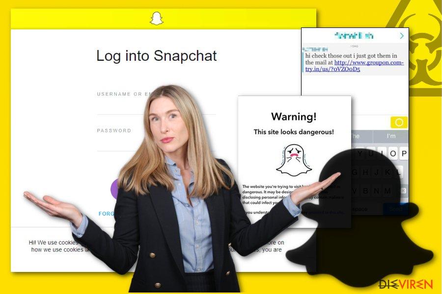 Abbildung Snapchat-Schadsoftware