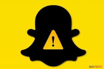 Bild Snapchat-Virus