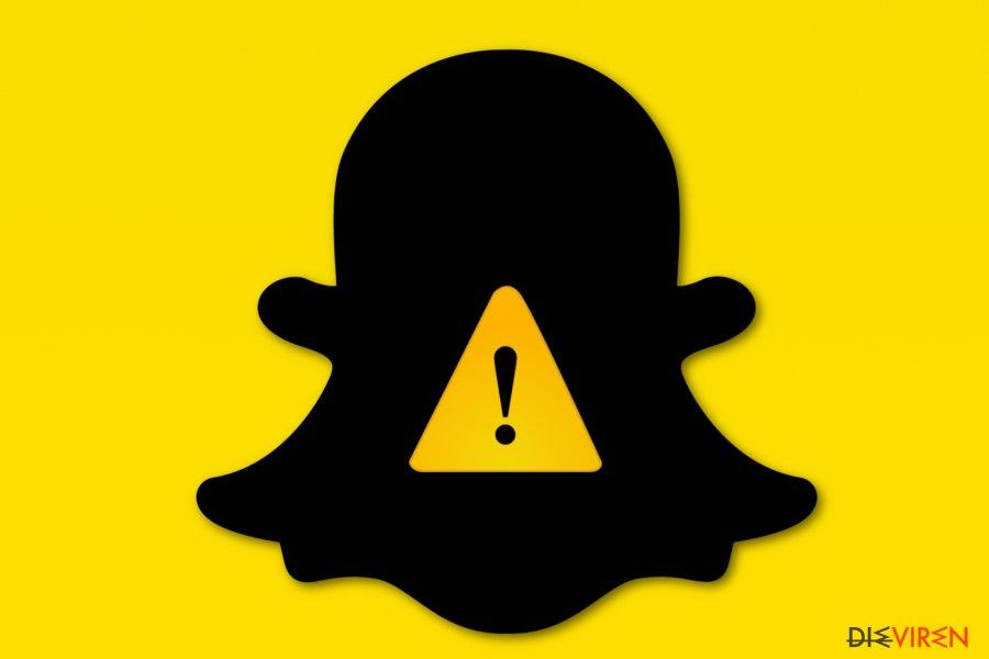 Snapchat virus picture