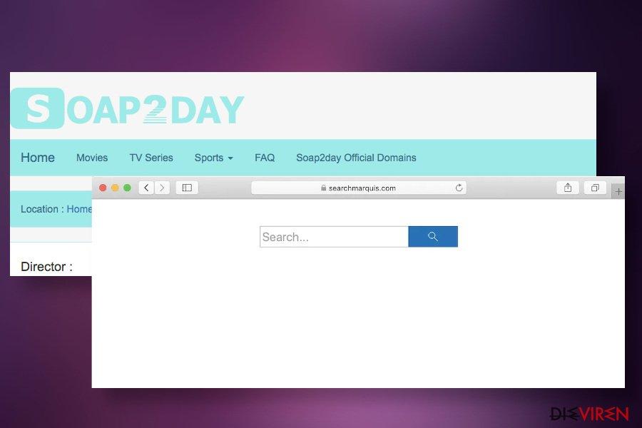 Soap2Day kann Browser-Hijacker verbreiten