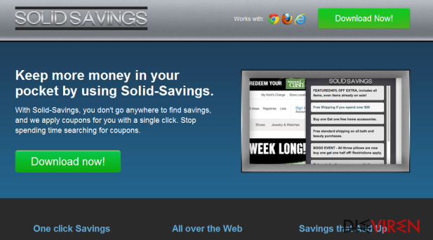 Solid Savings-Screenshot