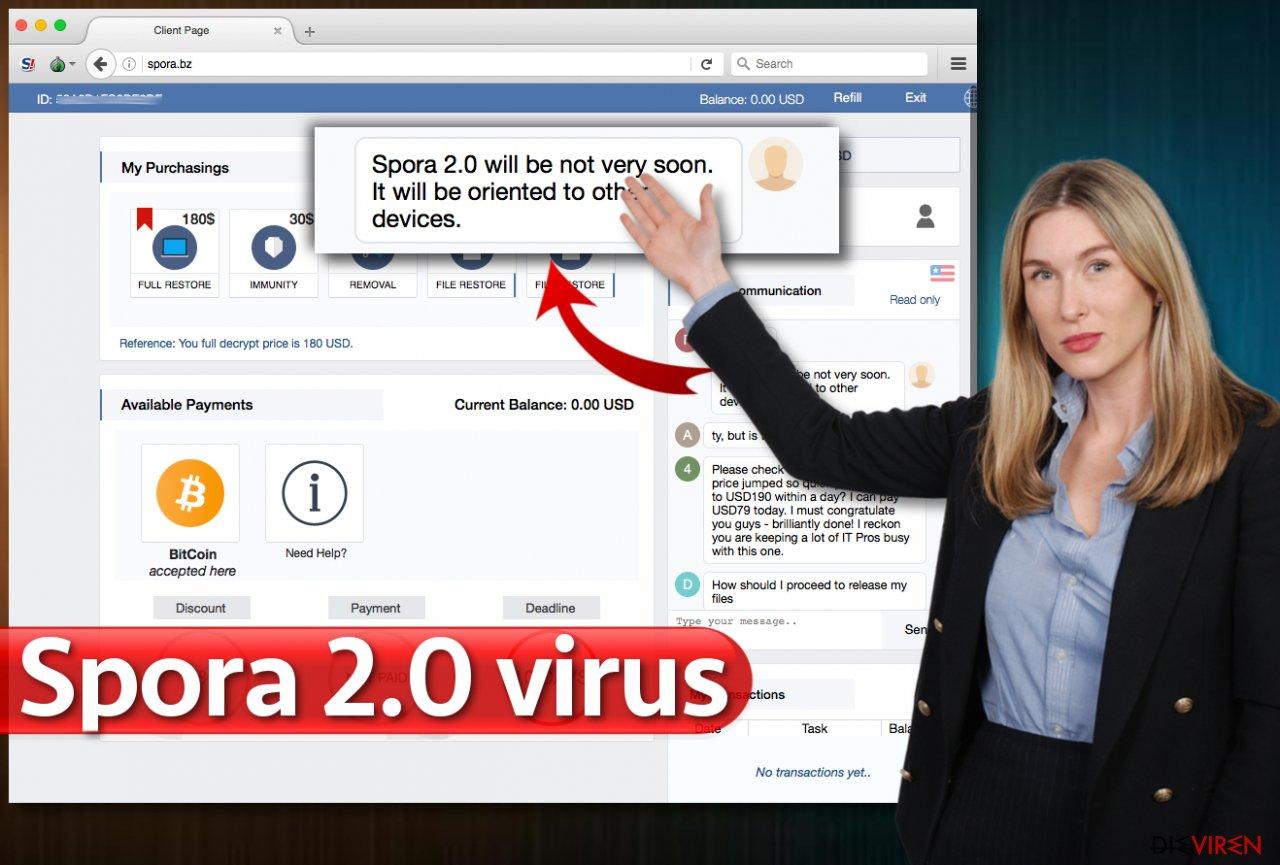 Der Virus Spora 2.0