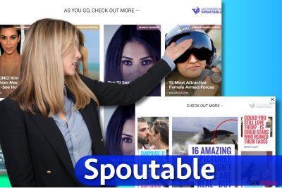 Abbildung Spoutable-Anzeigen