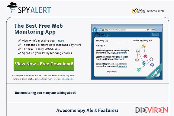 Spy Alert-Screenshot