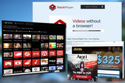 Stack Player ads