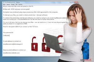 STOP-Erpressersoftware