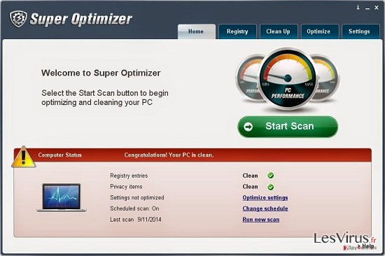 Super Optimizer-Screenshot