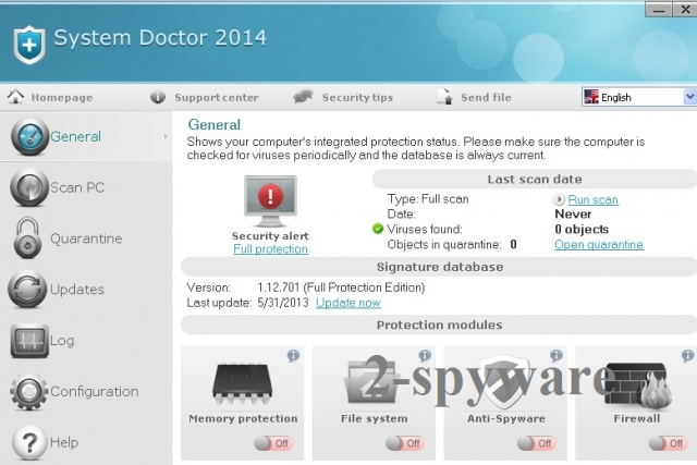 System Doctor 2014-Screenshot
