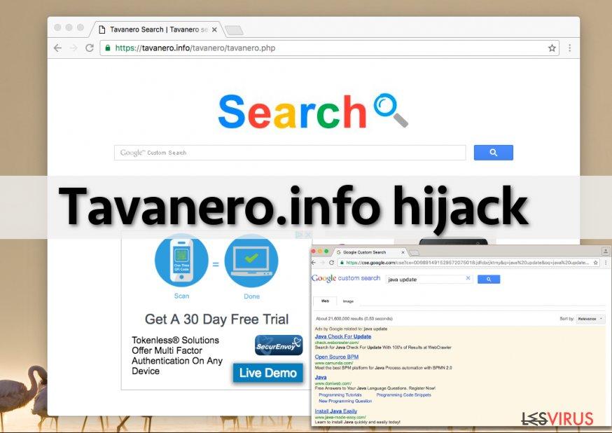 Tavanero.info-Screenshot