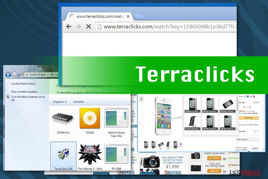 Terraclicks virus