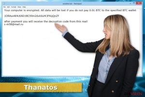 Thanatos-Erpressersoftware
