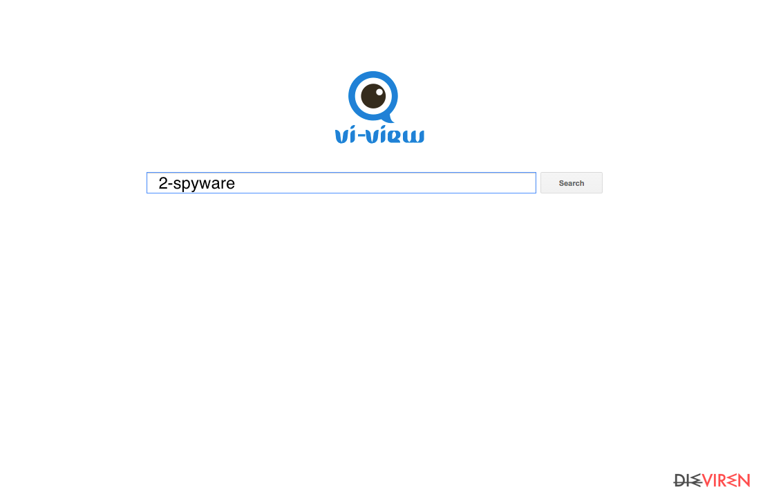 The newest version of Vi-view browser hijacker