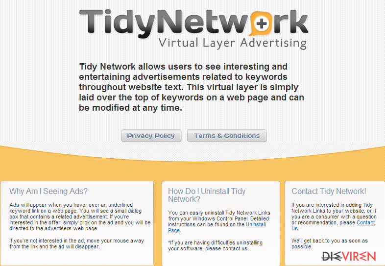TidyNetwork.com-Screenshot