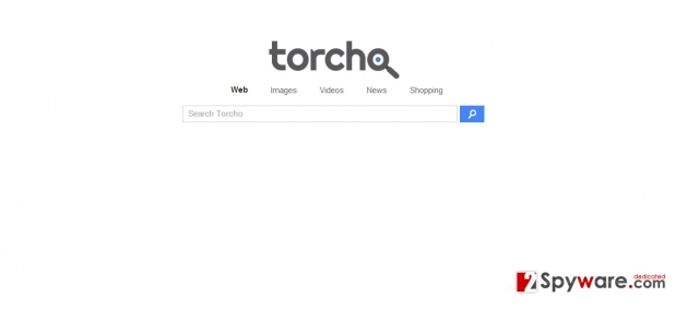 Torcho-Web-Virus-Screenshot