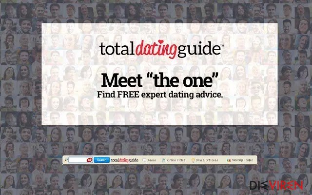 Total Dating Guide Toolbar-Screenshot