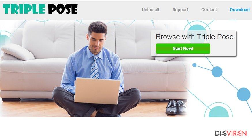Triple Pose-Screenshot