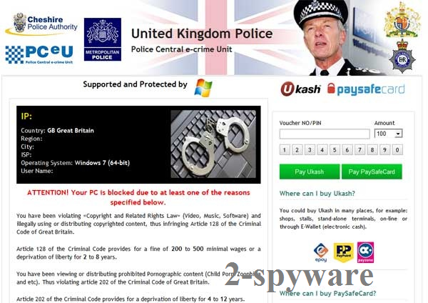 UK Police virus-Screenshot