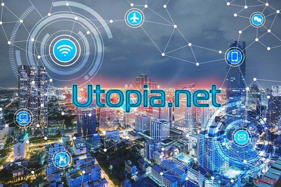 Der DNS-Hijacker Utopia.net