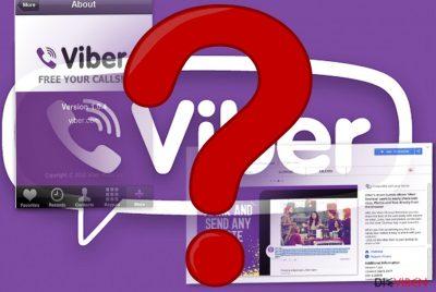 Abbildung der App und der Browsererweiterung von Viber