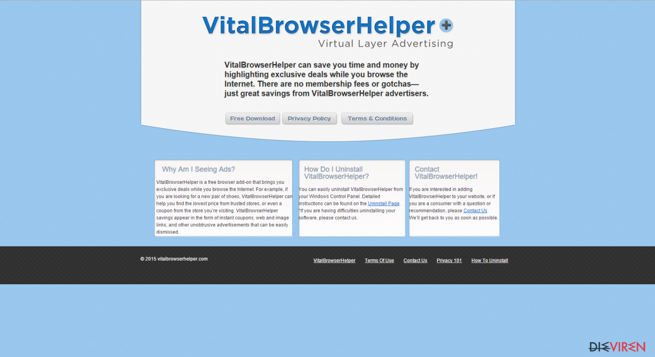 Vital Browser Helper