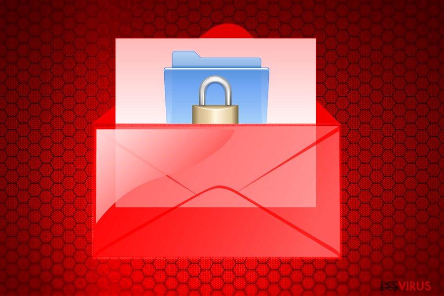 Wallet ransomware virus