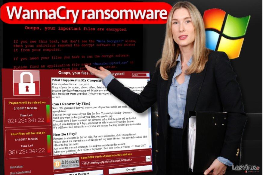 WannaCry-Erpressungsprogramm