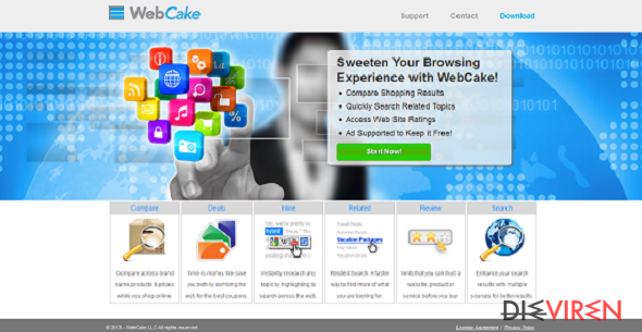 WebCake-Screenshot