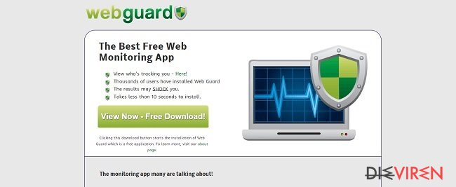 Web-Guard-Virus-Screenshot
