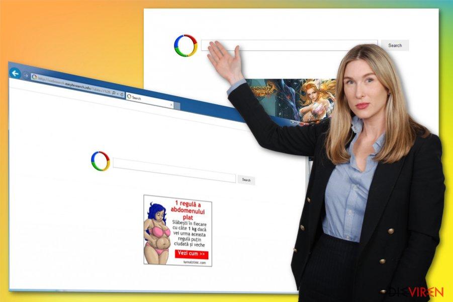 Der Websearch.eazytosearch.info-Virus