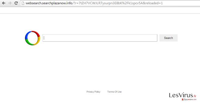 Websearch.searchplazanow.info-Virus-Screenshot