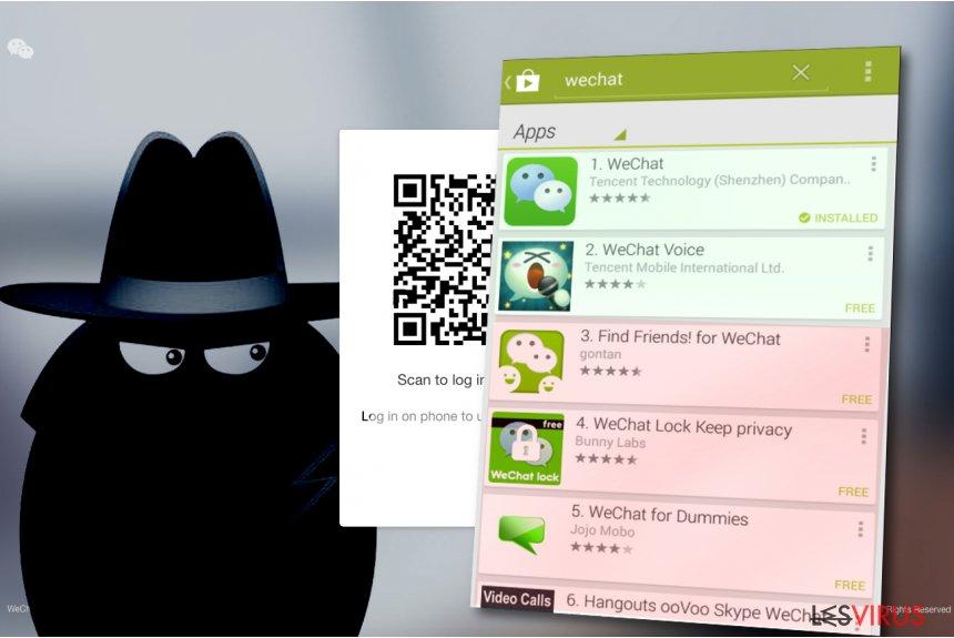 WeChat-Virus