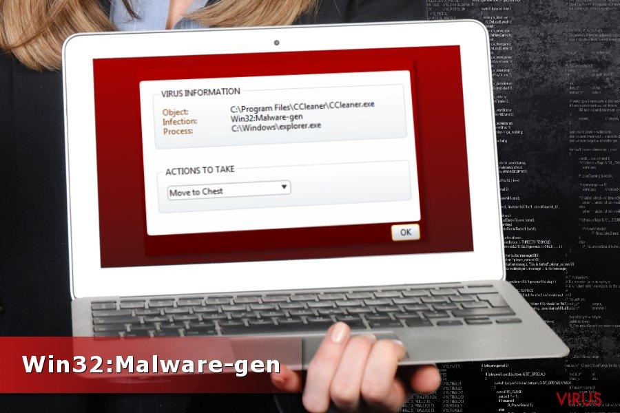 Win32:Malware-gen-Erkennung