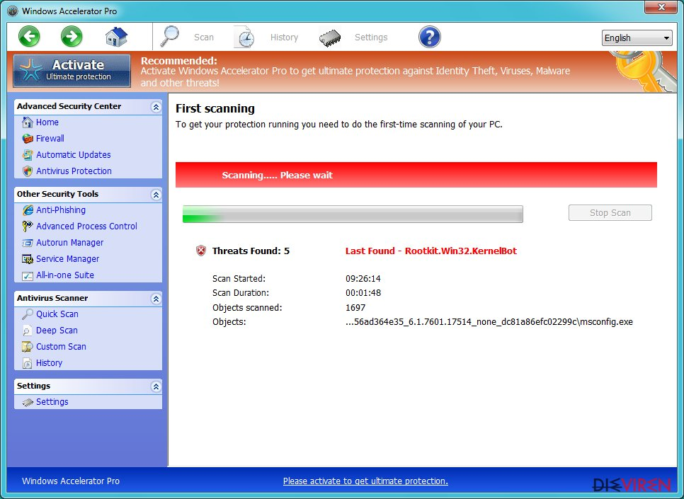 Windows Accelerator Pro-Screenshot