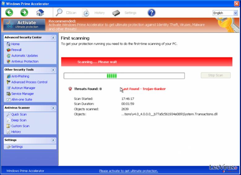 Windows Prime Accelerator-Screenshot