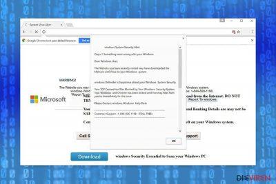 """Windows Security Alert""-Betrug"