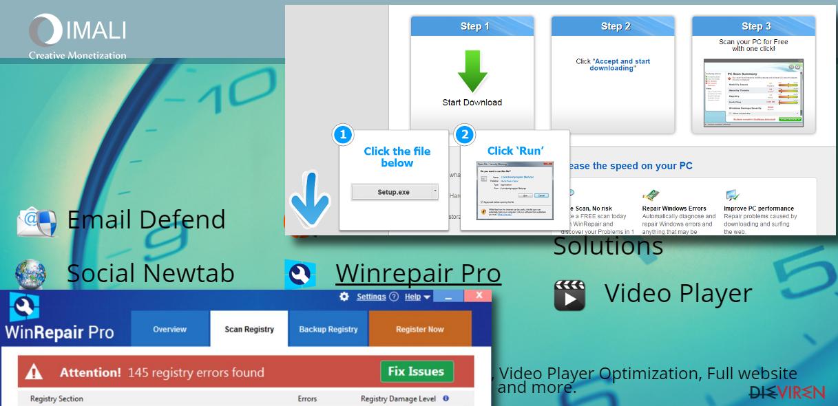 WinRepair Pro malware