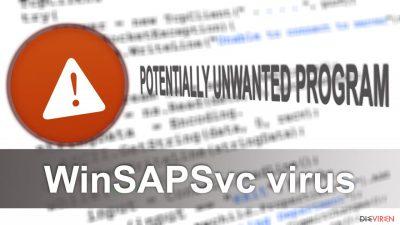 Illustration WinSAPSvc-Virus