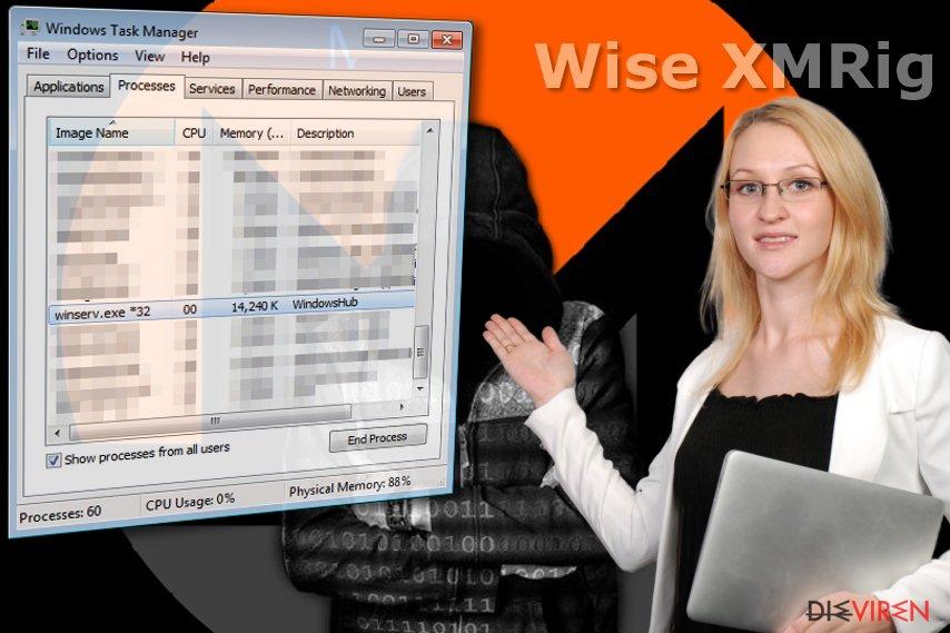Wise XMRig-Virus