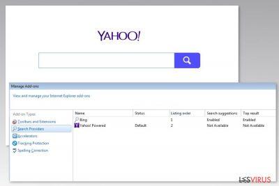 Abbildung Yahoo-Powered-Virus