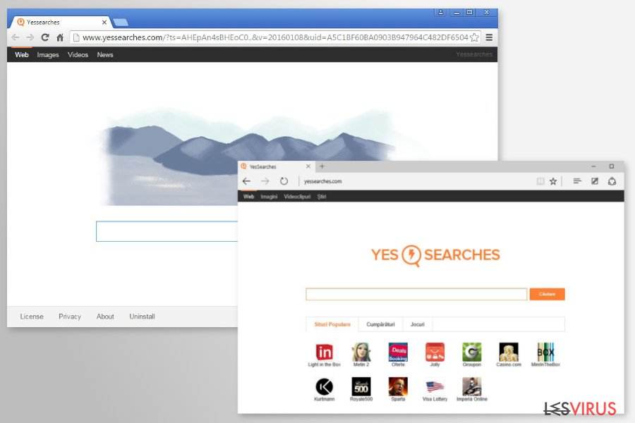 YesSearches.com-Screenshot