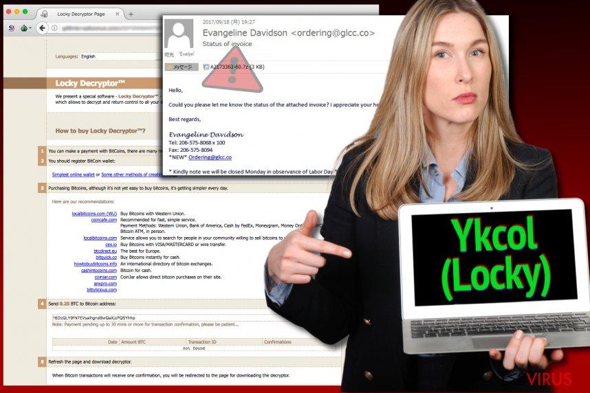 Locky-Virus bezeichnet sich nun als Ykcol