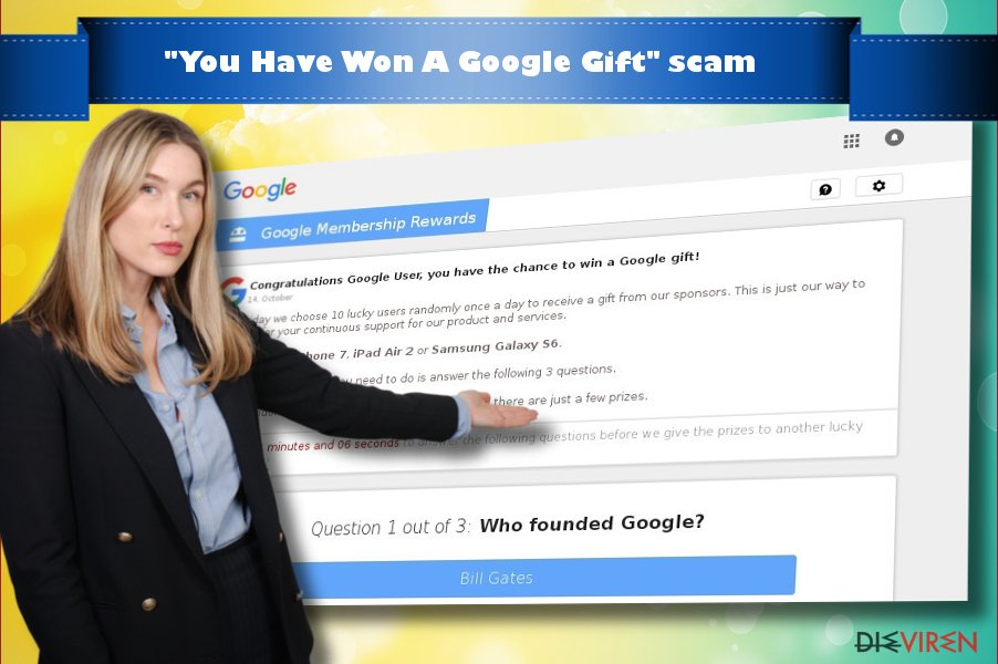"""You Have Won A Google Gift""-Virus"