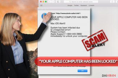 """""""YOUR APPLE COMPUTER HAS BEEN LOCKED""""-Virus"""