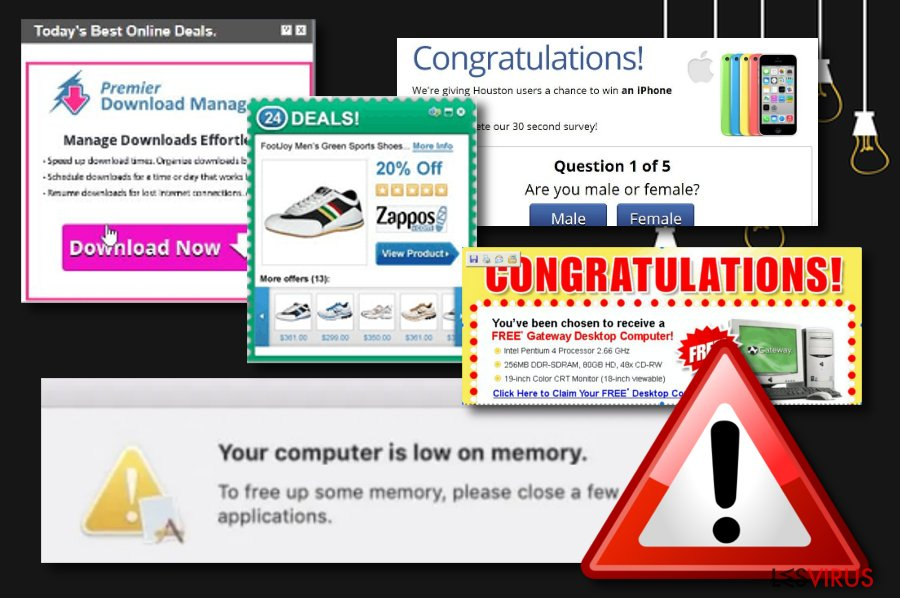 Mac-Virus: Your computer is low on memory