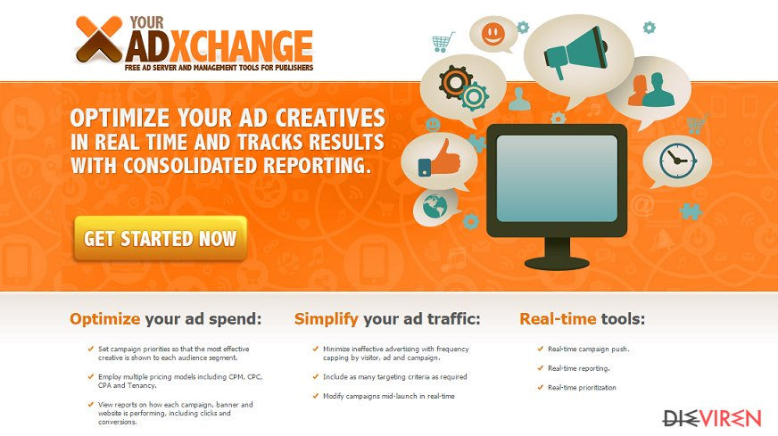 YourAdExchange.com-Pop-up-Anzeigen-Screenshot