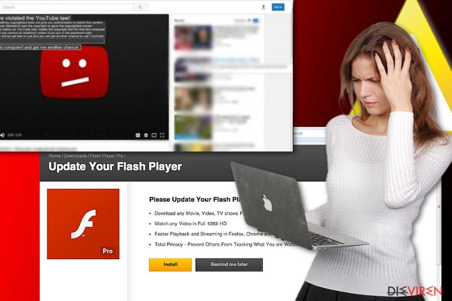 Beispiele von YouTube-Viren