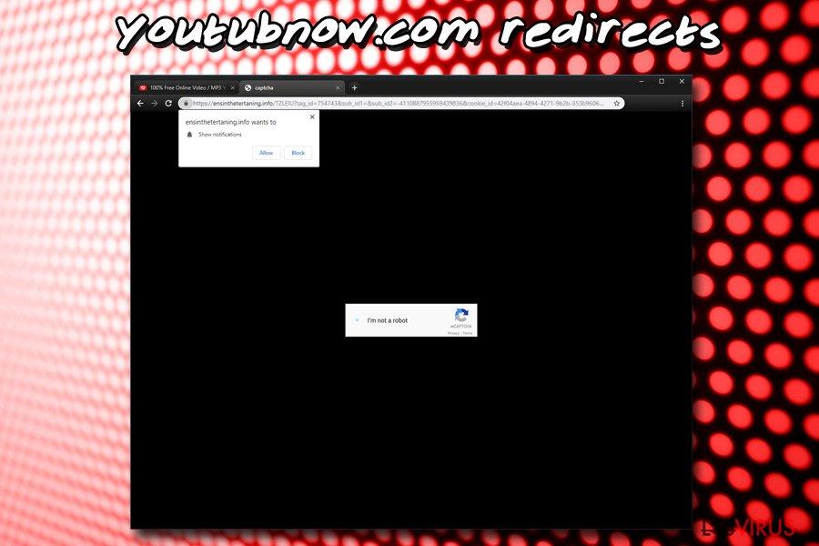 Youtubnow.com-Push-Benachrichtigungsvirus