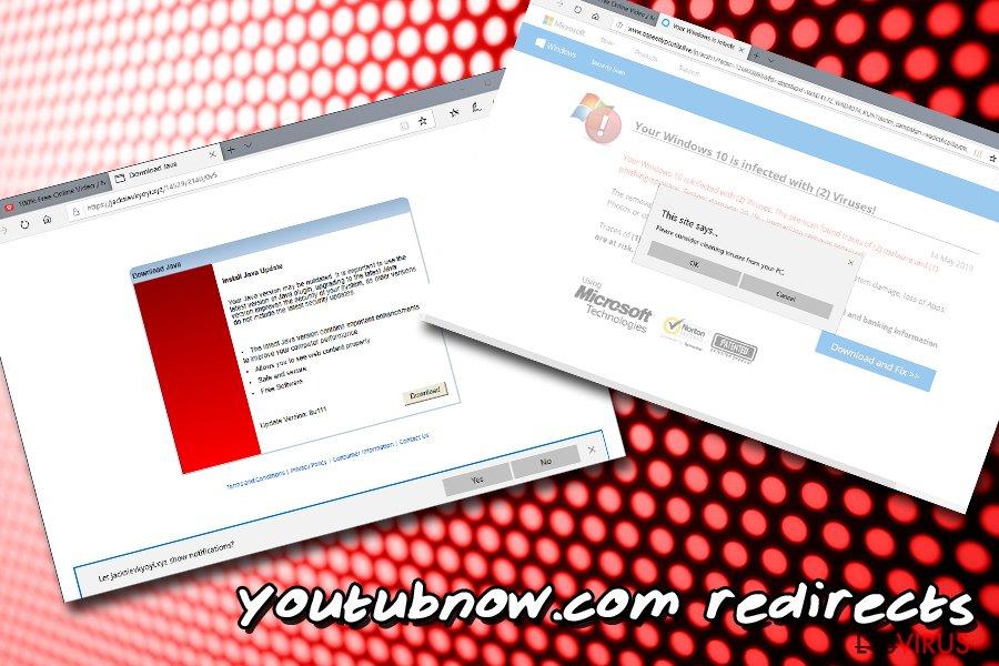 Youtubnow.com-Weiterleitungen