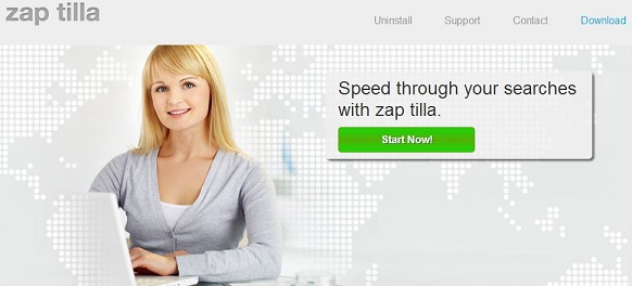 Zap-Tilla-Adware-Screenshot